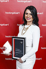 hockingstuart awards at The Plaza