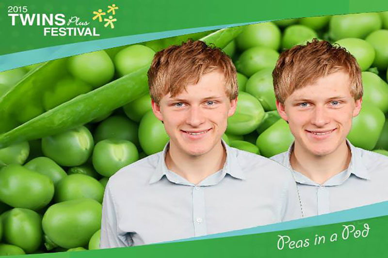 Twins Festival greenscreen photo